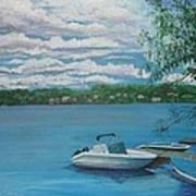 Lake Quinsigamond In Massachusetts Acrylic Art Print