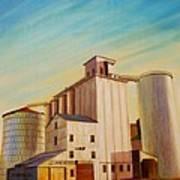Latah County Grain Growers Art Print