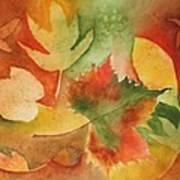 Leaves III Art Print
