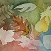 Leaves IV Art Print