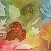 Leaves V Art Print