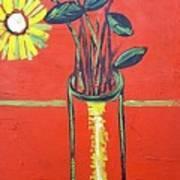 Lido flower Art Print