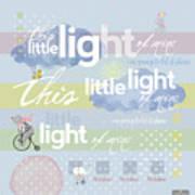 Little Light Art Print