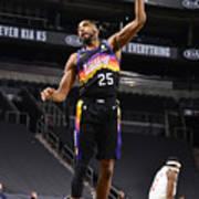 Los Angeles Clippers v Phoenix Suns Art Print