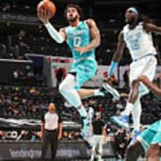 Los Angeles Lakers v Charlotte Hornets Art Print