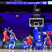 Los Angeles Lakers v Philadelphia 76ers Art Print