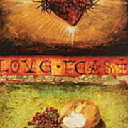 Love Feast Art Print