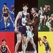 Lsu Pete Maravich Sports Illustrated Cover Art Print