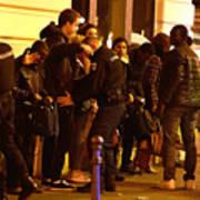 Many Dead After Multiple Shootings In Paris Art Print