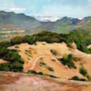 Marin Hills Art Print