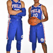 Markelle Fultz and Ben Simmons Art Print
