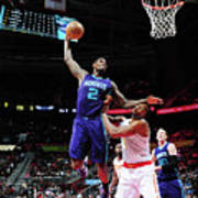 Marvin Williams and Dwight Howard Art Print