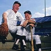 Mickey Mantle and Whitey Ford Art Print