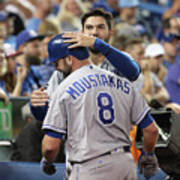 Mike Moustakas and Eric Hosmer Art Print