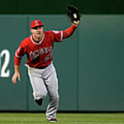 Mike Trout and Bryce Harper Art Print
