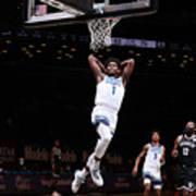 Minnesota Timberwolves v Brooklyn Nets Art Print