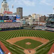 Minnesota Twins v Cleveland Indians Art Print