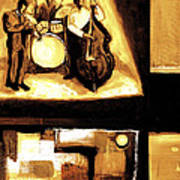 Modern Jazz Number Two Art Print