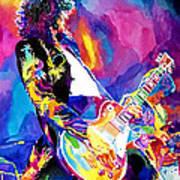 Monolithic Riff - Jimmy Page Art Print