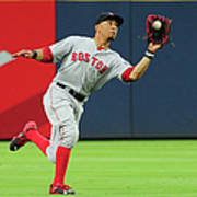 Mookie Betts Art Print