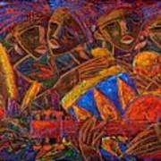 Musas Del Caribe Art Print