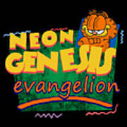Neon Genesis Evangelion Meets Garfield And Friends Digital Art By Rosalina I Flores