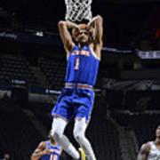 New York Knicks v San Antonio Spurs Art Print