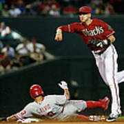 Nick Ahmed and Freddy Galvis Art Print