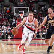 Pat Connaughton and Georges Niang Art Print
