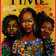 Patrisse  Cullors, Alicia Garza, Opal Tometi, 2013 - Founders of Black Lives Matter Art Print