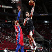 Philadelphia 76ers v Houston Rockets Art Print