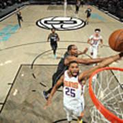 Phoenix Suns v Brooklyn Nets Art Print