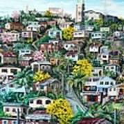 Poui On The Hill Art Print