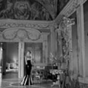 Princess del Drago in the Palazzo Orsini Art Print