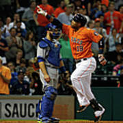 Russell Martin and Luis Valbuena Art Print