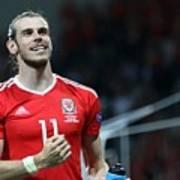 Russia v Wales - EURO 2016 Art Print