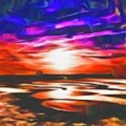 Sands Beach Art Print