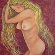 Seductive Virgin Art Print