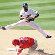 Shane Victorino and Jimmy Rollins Art Print