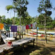 Simple Life in Amazon,Brazil Art Print
