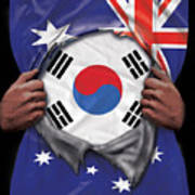 Australia Flag Athletic Fleece Sweatshorts