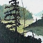 South Of Sudbury Art Print