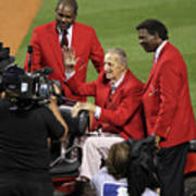 Stan Musial, Bob Gibson, and Lou Brock Art Print