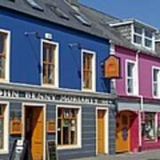 Strand Street in Dingle Ireland Art Print