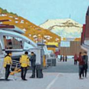 Strandkaien Passenger Terminal Art Print
