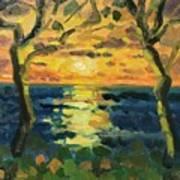 Sunrise at Jupiter 2019 Art Print