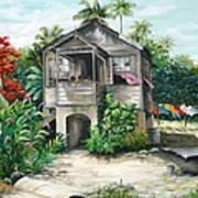 Sweet Island Life  Art Print