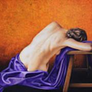 Sylph in Purple Art Print