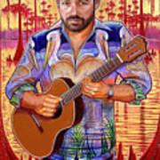A Portrait of Tab Benoit Art Print