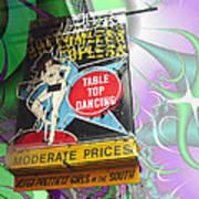 Table Top Dancing Art Print